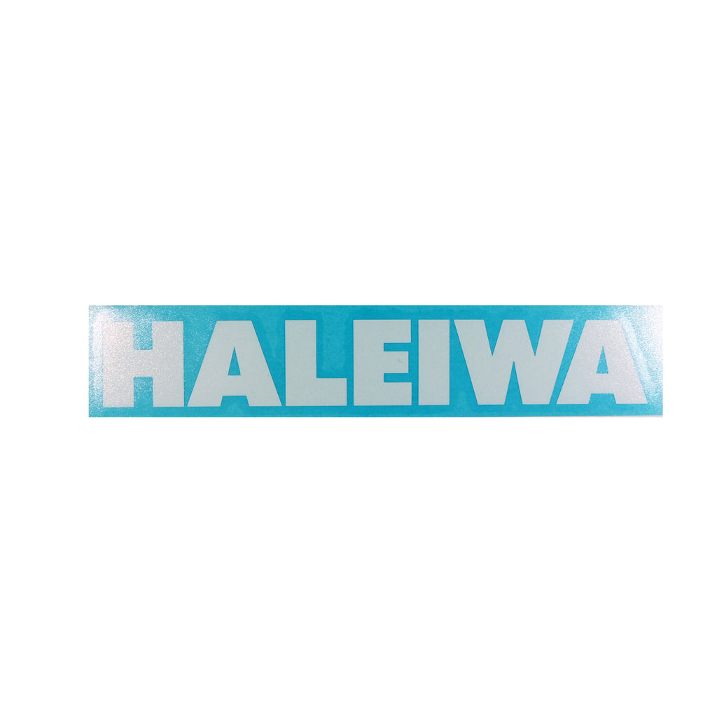 Haleiwa Future Diecut Sticker