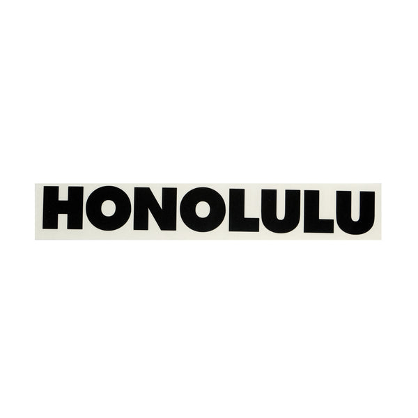 Honolulu Future Diecut Sticker  8/9