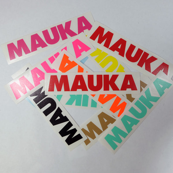 Mauka Future Diecut Sticker