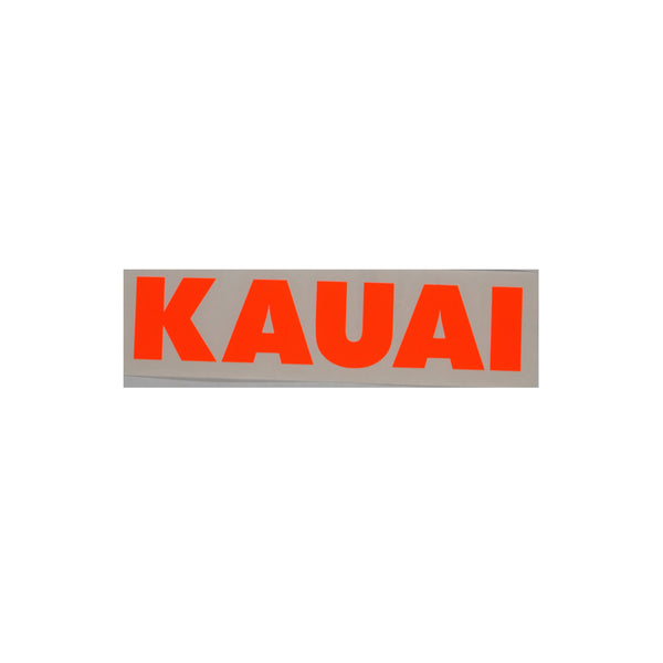 Kauai Future Diecut Sticker