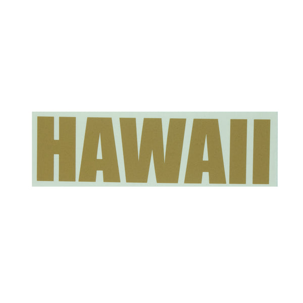 Hawaii Impact Diecut Sticker 11-7-19