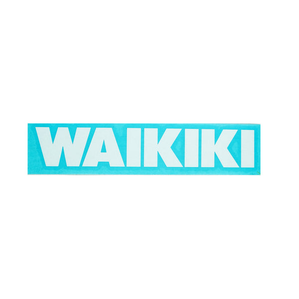 Waikiki Future Diecut Sticker