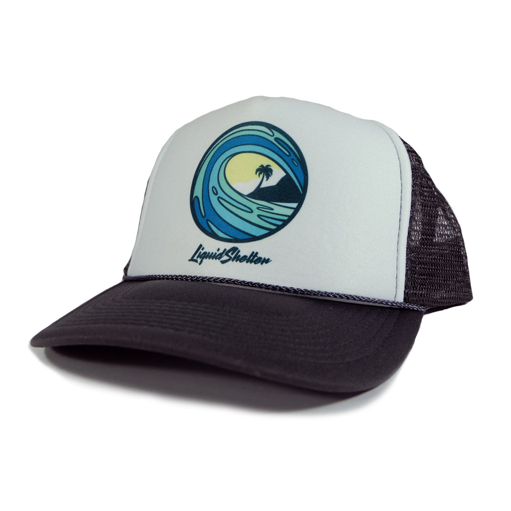 """Emblem"" Trucker By Liquid Shelter"