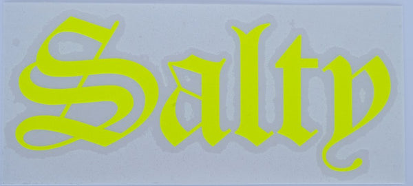 Salty Old E Diecut Sticker