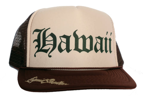 Hawaii Old E Trucker