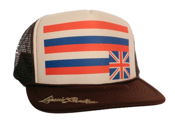 Flag Distressed Trucker 10-30-19