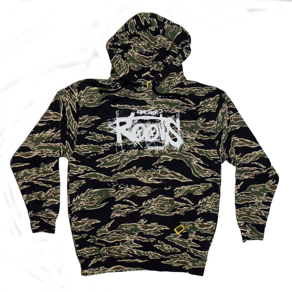 """Roots"" Camo Hooded Sweater 808 Empire"