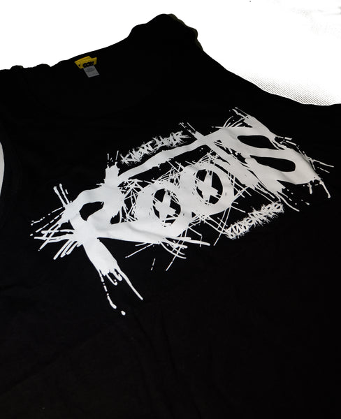 """Roots"" Black Tank Top by 808 Empire"