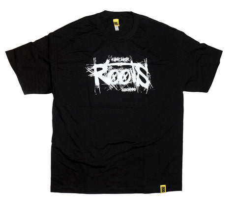 """Roots"" Black Short Sleeve by 808 Empire"