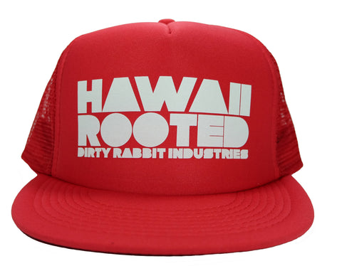 """Rooted"" Flat Bill Trucker By DRI"