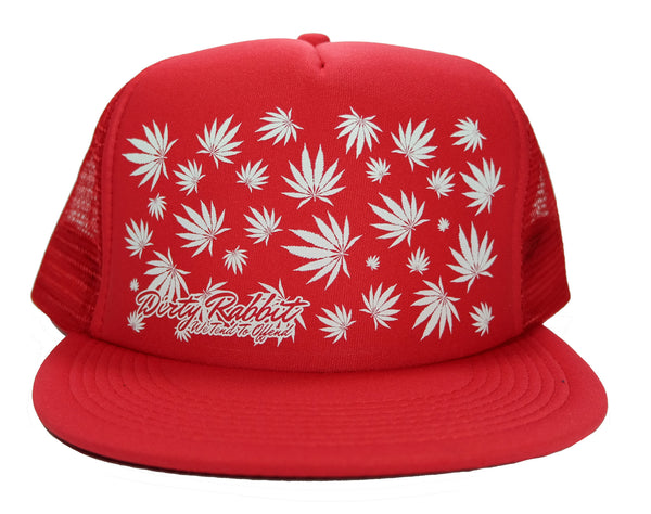 """Leaf City"" Flat Bill Trucker By DRI"