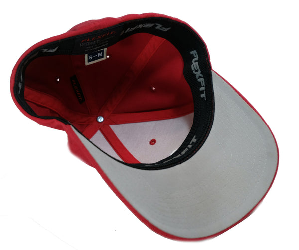 """Athletics"" Flexfit Hat by 808 Empire (Red/White)"