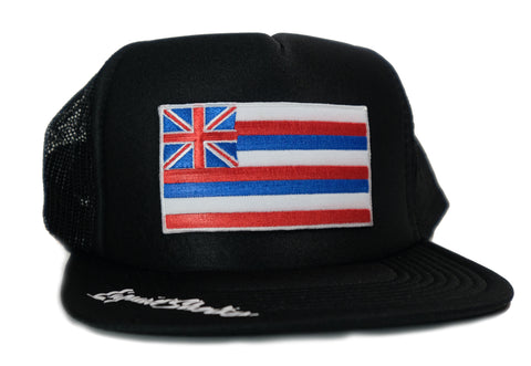 """Hawaii Flag Patch"" Trucker By Liquid"