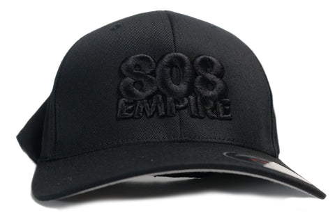 """Athletics"" Flexfit Hat by 808 Empire (Black/Black) 10-30-19"