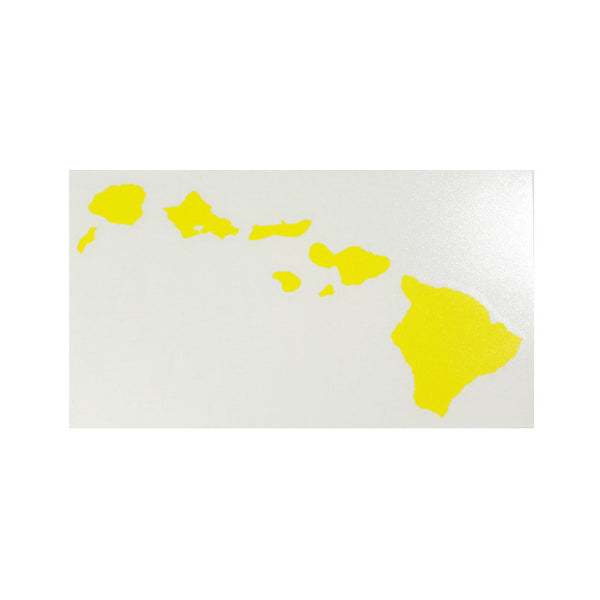 "Hawaiian Island Chain 12"" Diecut Sticker"