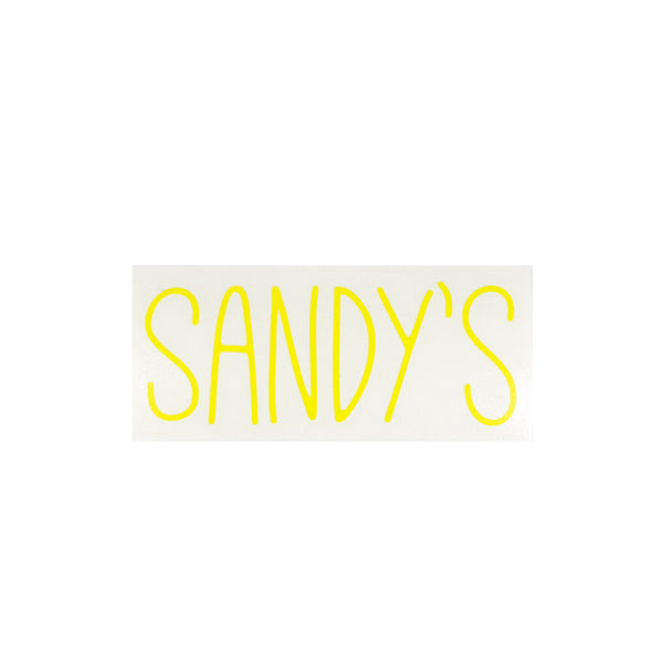 Sandy's Skinny Diecut Sticker