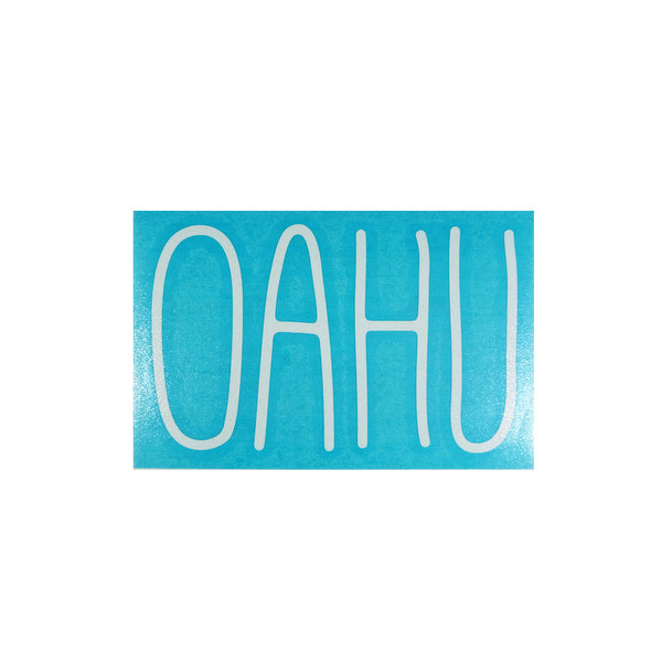 Oahu Skinny Diecut Sticker
