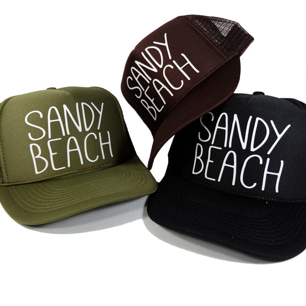 Sandy Beach - Skinny Trucker