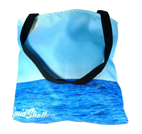 """A Little Slice of Heaven"" Tote Bag By Liquid Shelter"