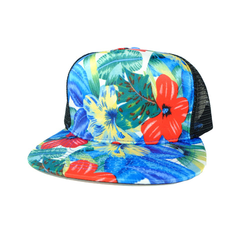 Otto Royal Flower Cap Foam Trucker Blank 8/9