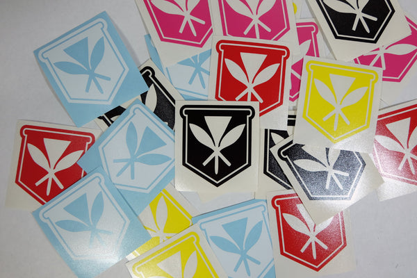 "Kahili Diecut 3"" Sticker"