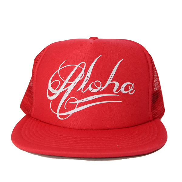 Aloha Tatts - Flat Bill Trucker