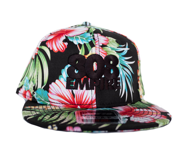 808 Empire Stack Floral Snapback