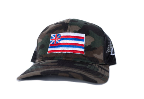 Hawaii Flag Snapback Hat