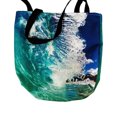 """NS Shorey"" Tote Bag By Liquid Shelter"
