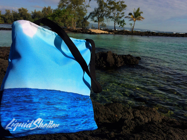 """A Little Slice of Heaven"" Tote Bag By Liquid Shelter 10-30-19"