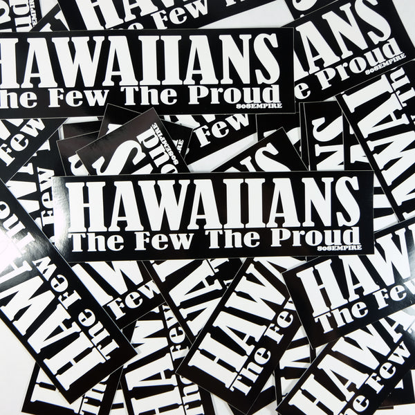 """Few Proud"" Sticker By 808 Empire"