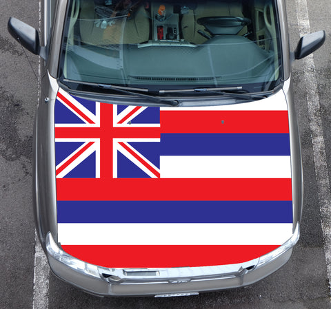 Hawaii Flag Hood Wrap (Tacoma 05-15)