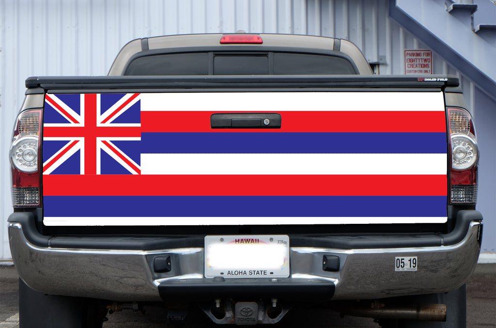 Hawaii Flag Tail Gate Wrap (Tacoma 05-19)