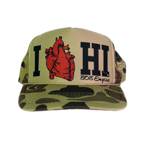 "HI Love"" Trucker By 808 Empire"