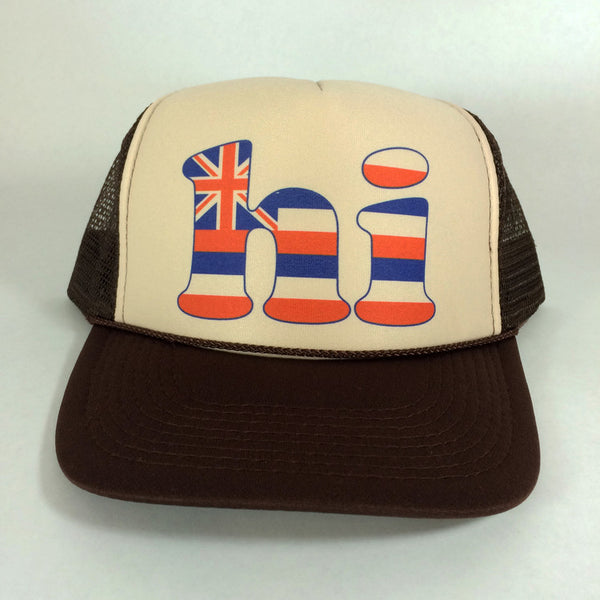 hi Hawaii Flag - Trucker 7/31