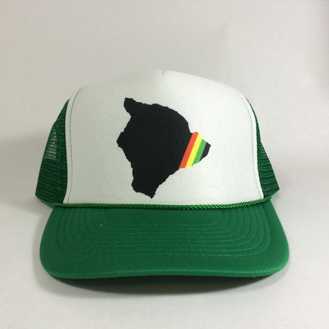 Rasta Strip Big Island - Trucker 8/9