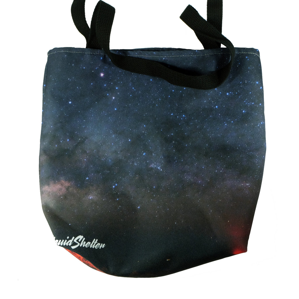 """Mauna Kea Milky Way"" Tote bag By Liquid Shelter"