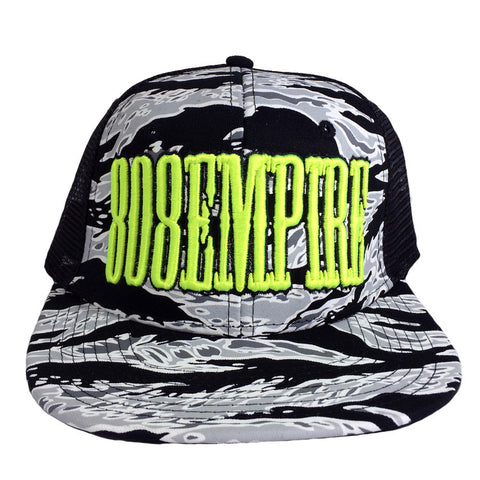 """Uppercut"" Camo Trucker By 808 Empire (Neon)"