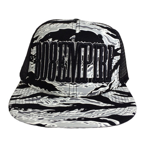 """Uppercut"" Camo Trucker By 808 Empire (Black)"
