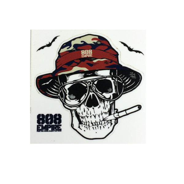 """Country"" 3"" Sticker By 808 Empire 11-7-17"