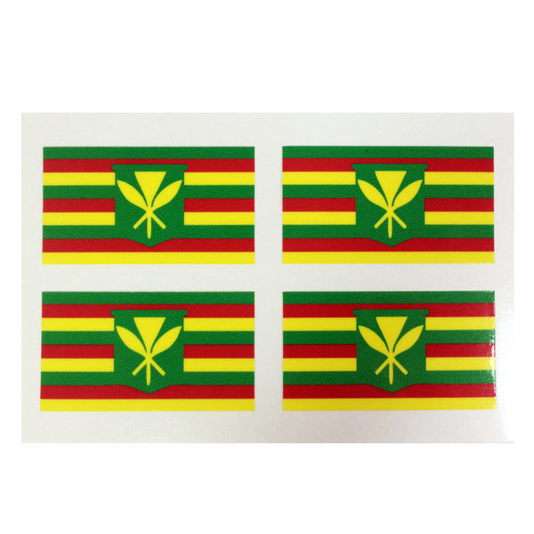 Maoli Mini Flag Sticker Card 8/9