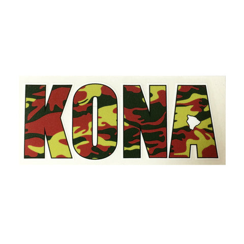 "Kona Impact 8"" Sticker"