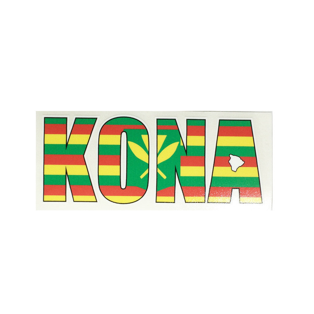 Kona Impact Sticker