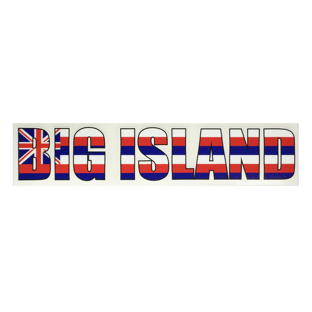 Big Island Impact Sticker