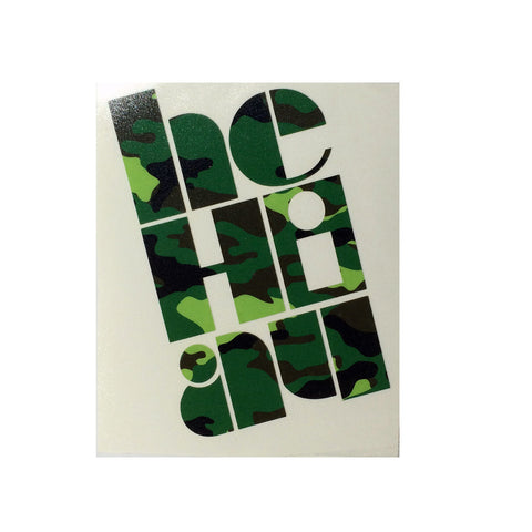 "CAMO ""Claim"" Medium Sticker By Homesteady  (25% OFF)"