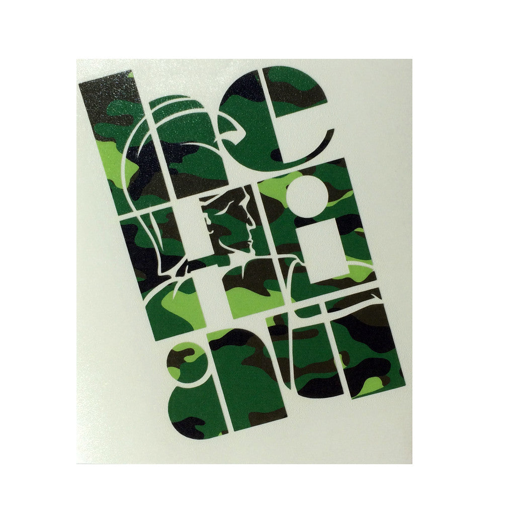 "CAMO ""Mahi'ole"" Medium Sticker By Homesteady  (25% OFF)"