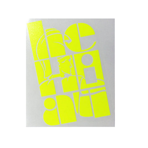"NEON ""Claim"" Small Sticker By Homesteady  (25% OFF)"