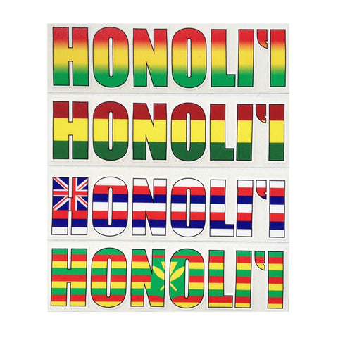 Honoli'i Impact Sticker
