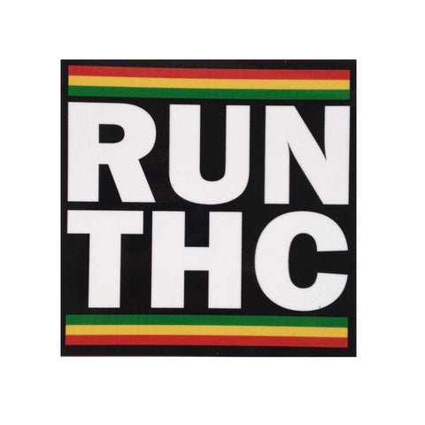 """Run THC"" Sticker 11-7-19"