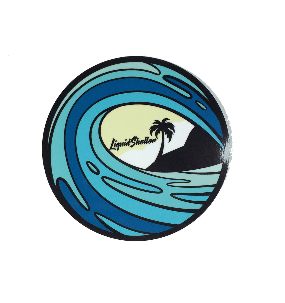 Liquid Shelter Wave Sticker